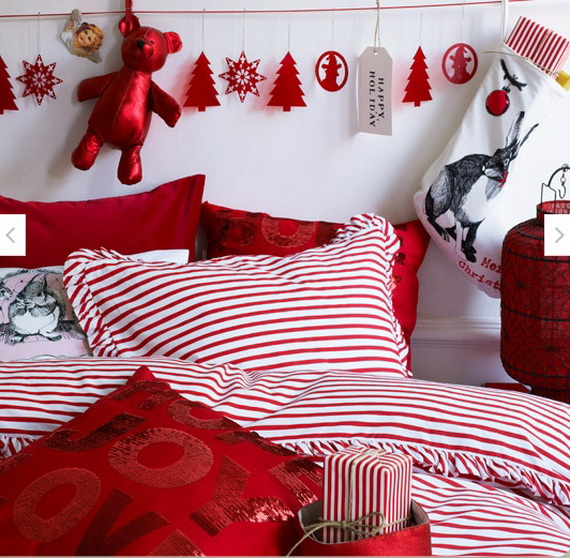 Adorable Bedroom Decor Ideas For Christmas and Special Occasion _36