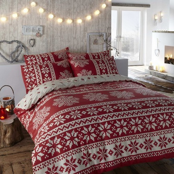 Adorable Bedroom Decor Ideas For Christmas and Special Occasion _40