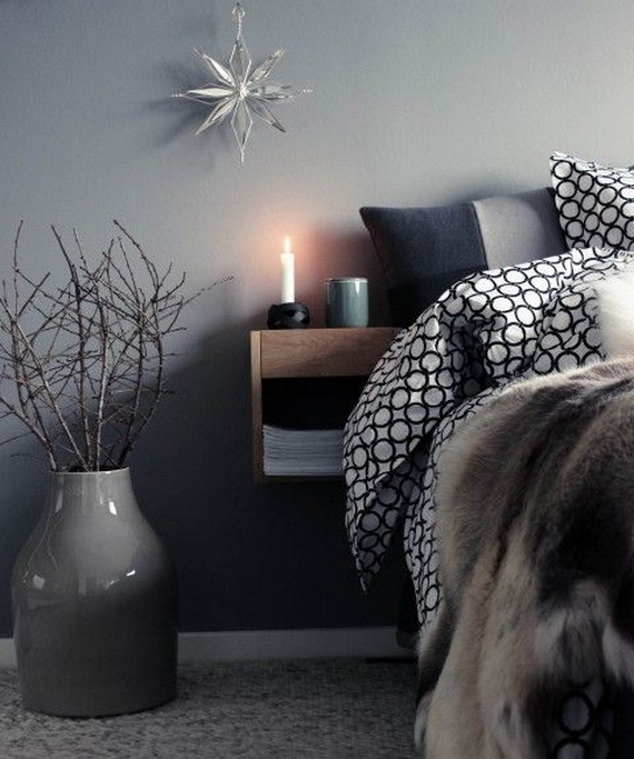 Adorable Bedroom Decor Ideas For Christmas and Special Occasion _42
