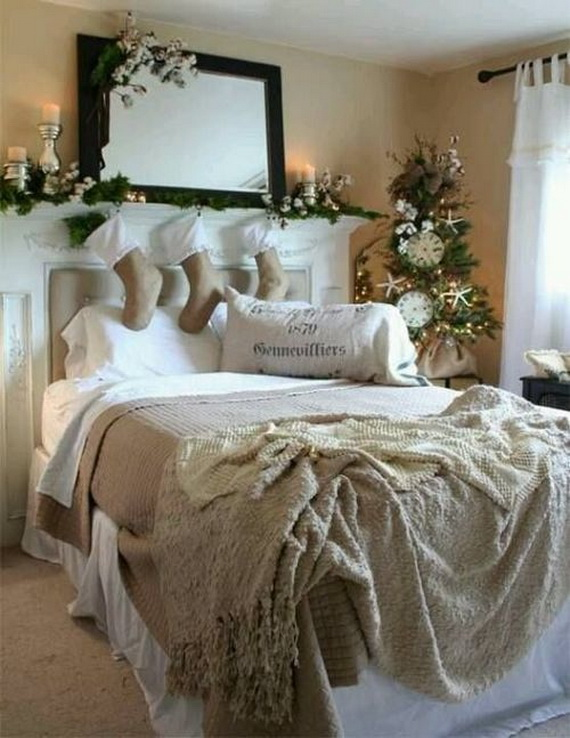 Adorable Bedroom Decor Ideas For Christmas and Special Occasion _43