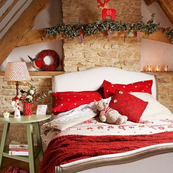 Adorable Bedroom Decor Ideas For Christmas and Special Occasion _44