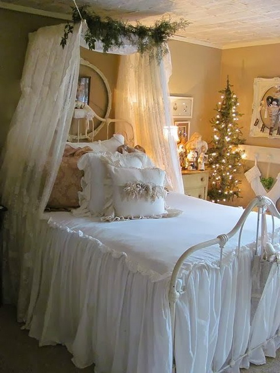 Adorable Bedroom Decor Ideas For Christmas and Special Occasion _47