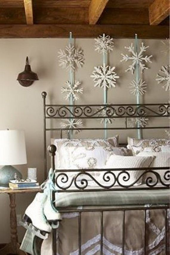 Adorable Bedroom Decor Ideas For Christmas and Special Occasion _48