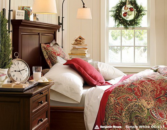 Adorable Bedroom Decor Ideas For Christmas and Special Occasion _50