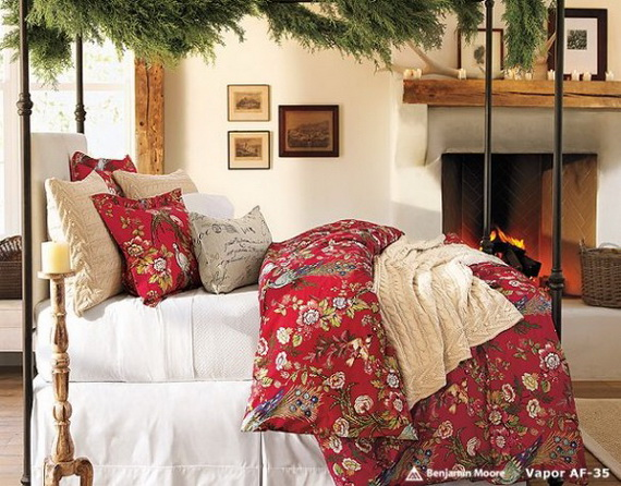 Adorable Bedroom Decor Ideas For Christmas and Special Occasion _53