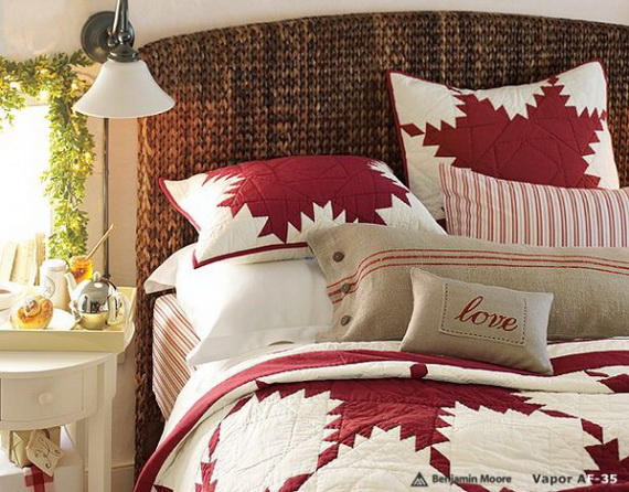 Adorable Bedroom Decor Ideas For Christmas and Special Occasion _58