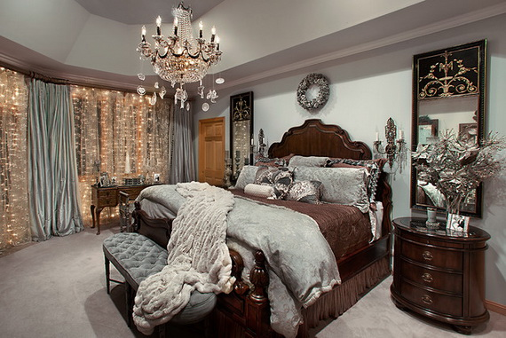 Adorable Bedroom Decor Ideas For Christmas and Special Occasion _63