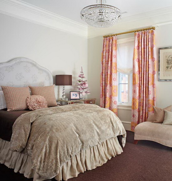 Adorable Bedroom Decor Ideas For Christmas and Special Occasion _66