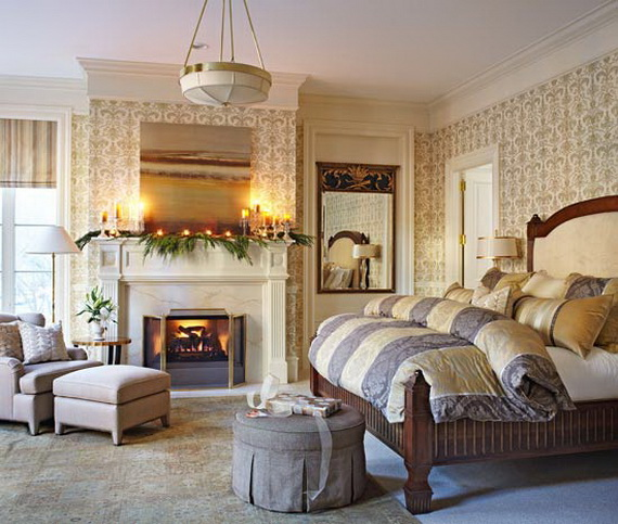 Adorable Bedroom Decor Ideas For Christmas and Special Occasion _67