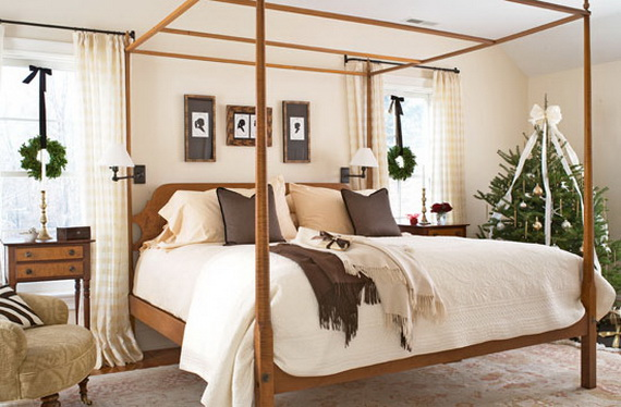 Adorable Bedroom Decor Ideas For Christmas and Special Occasion _73