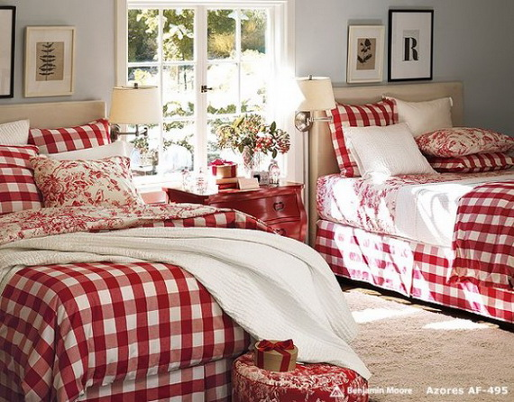 Adorable Bedroom Decor Ideas For Christmas and Special Occasion _79