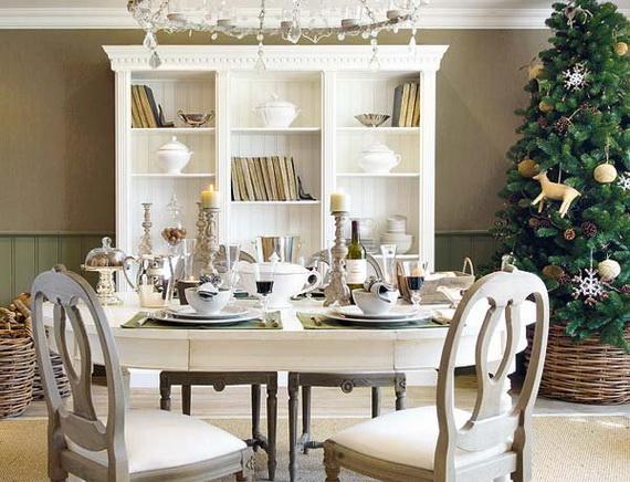 Amazing Christmas Dinner Table Decoration Ideas_02