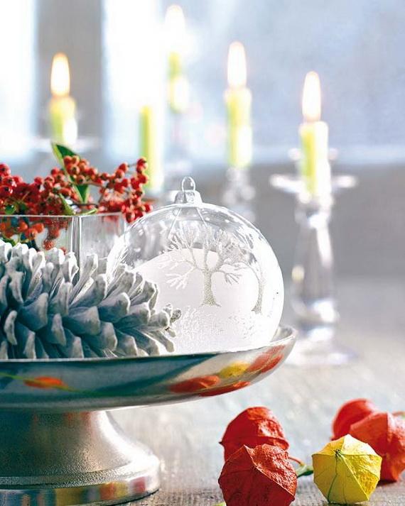 Amazing Christmas Dinner Table Decoration Ideas_03