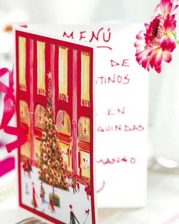 Amazing Christmas Dinner Table Decoration Ideas_17