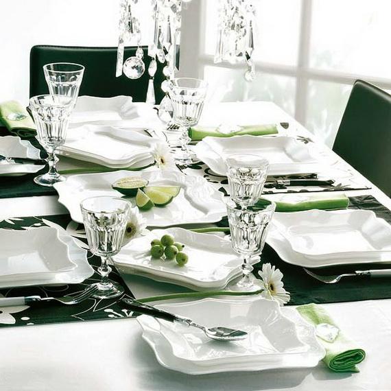 Amazing Christmas Dinner Table Decoration Ideas_23