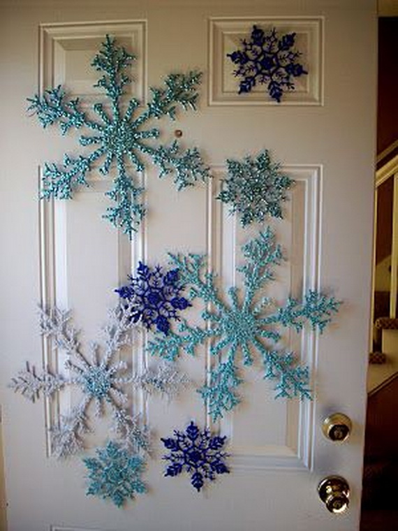 Creative Christmas Snowflake Decorating Ideas_007