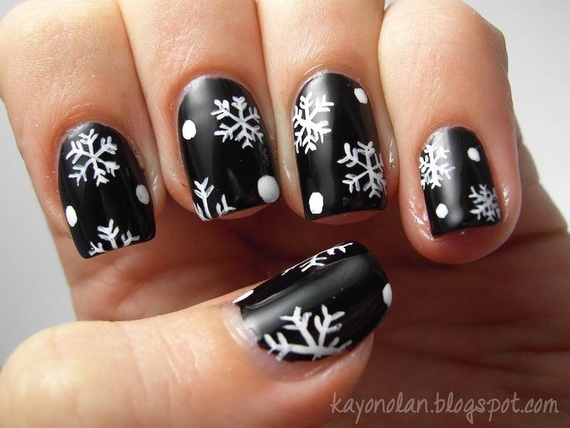Creative Christmas Snowflake Decorating Ideas_008