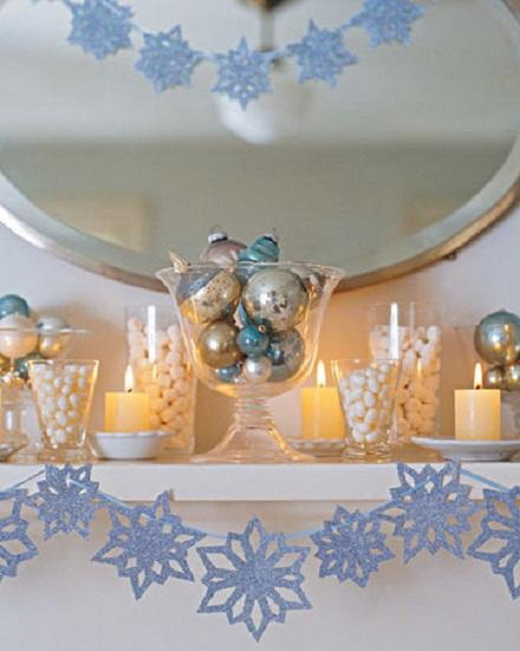 Creative Christmas Snowflake Decorating Ideas_022
