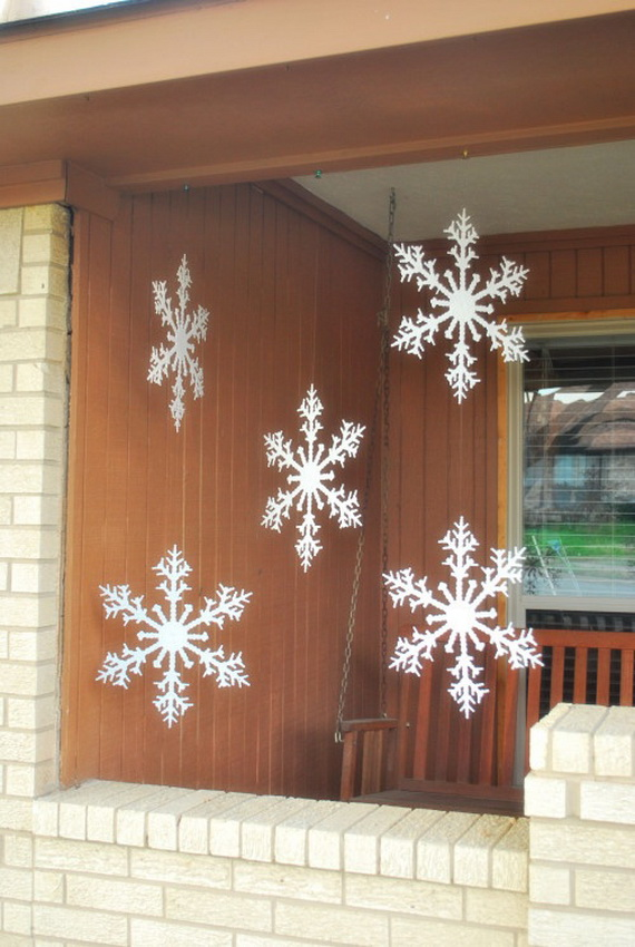 Creative Christmas Snowflake Decorating Ideas_046