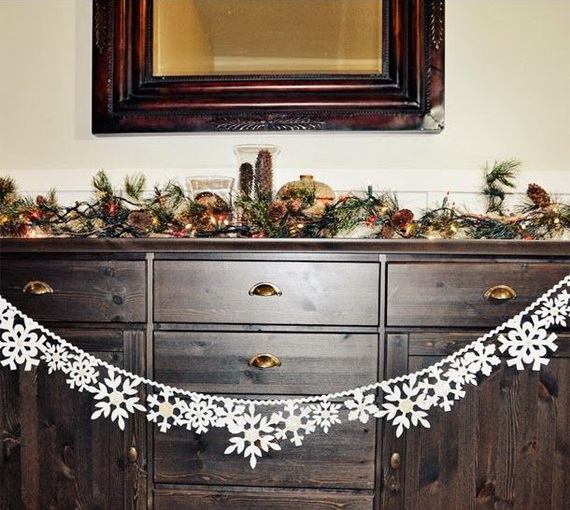 Creative Christmas Snowflake Decorating Ideas_047