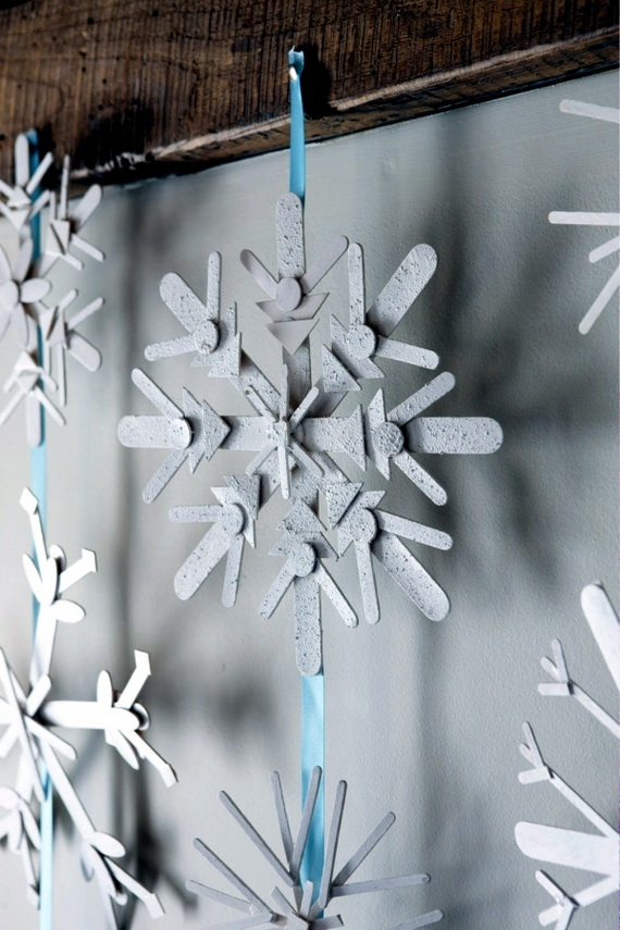 Creative Christmas Snowflake Decorating Ideas_093