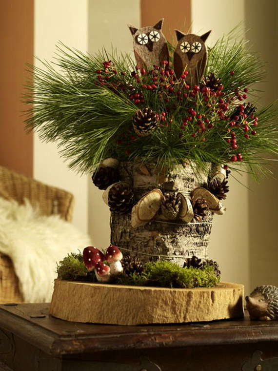 Creative Christmas Wreath Decor Ideas_63