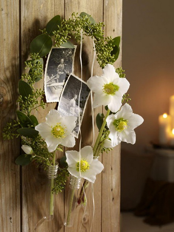 Creative Christmas Wreath Decor Ideas_66