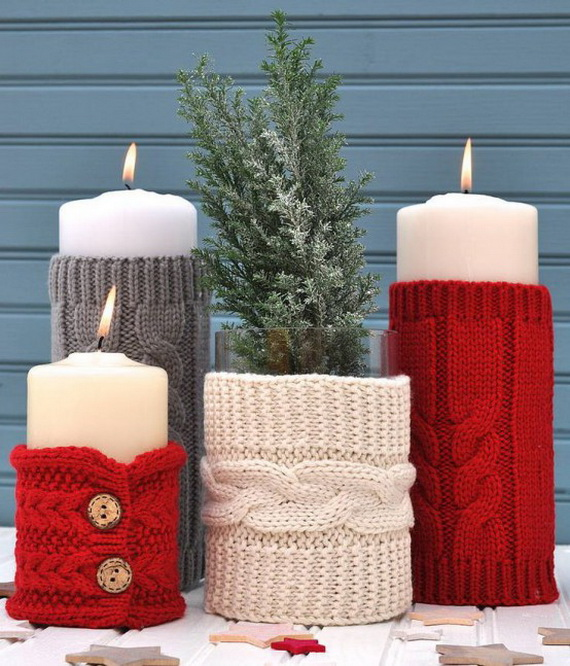 Cute And Cozy Knitted Christmas Decorations_28