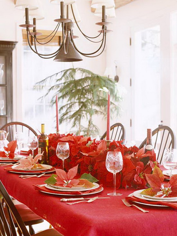 Decorate Christmas with 45 ideas poinsettias the holidays' most loved plant_03