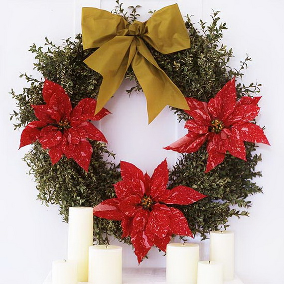 Decorate Christmas with 45 ideas poinsettias the holidays' most loved plant_15