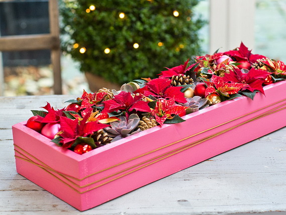 Decorate Christmas with 45 ideas poinsettias the holidays' most loved plant_25