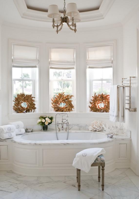 Festive Bathroom Decorating Ideas For Christmas_06