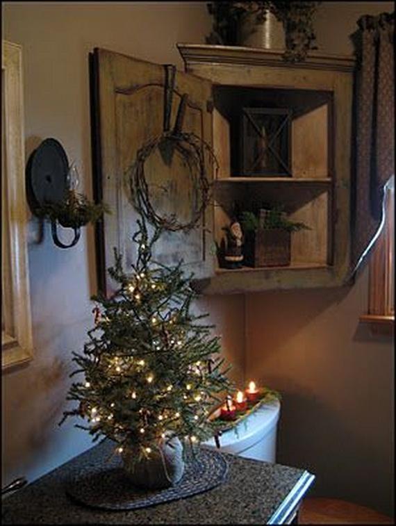 Festive Bathroom Decorating Ideas For Christmas_12