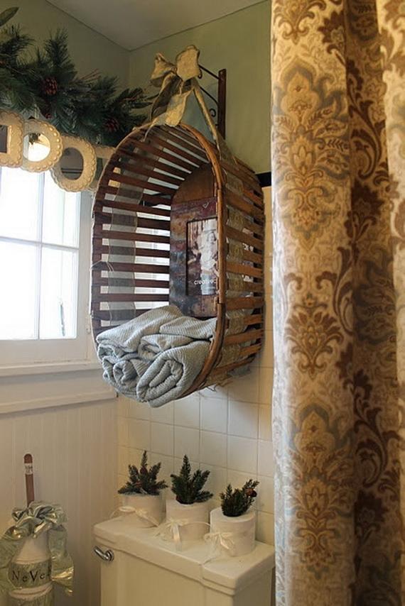 Festive Bathroom Decorating Ideas For Christmas_16