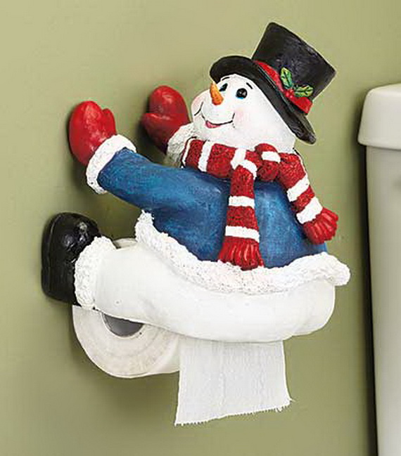 Festive Bathroom Decorating Ideas For Christmas_20