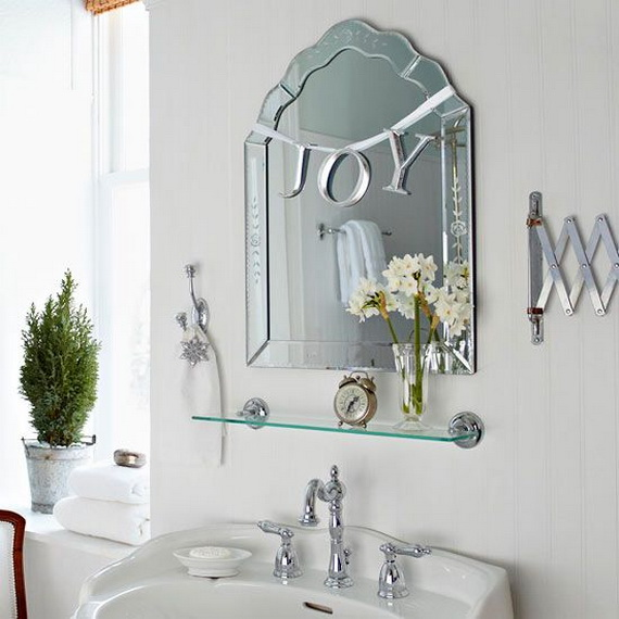 Festive Bathroom Decorating Ideas For Christmas_32