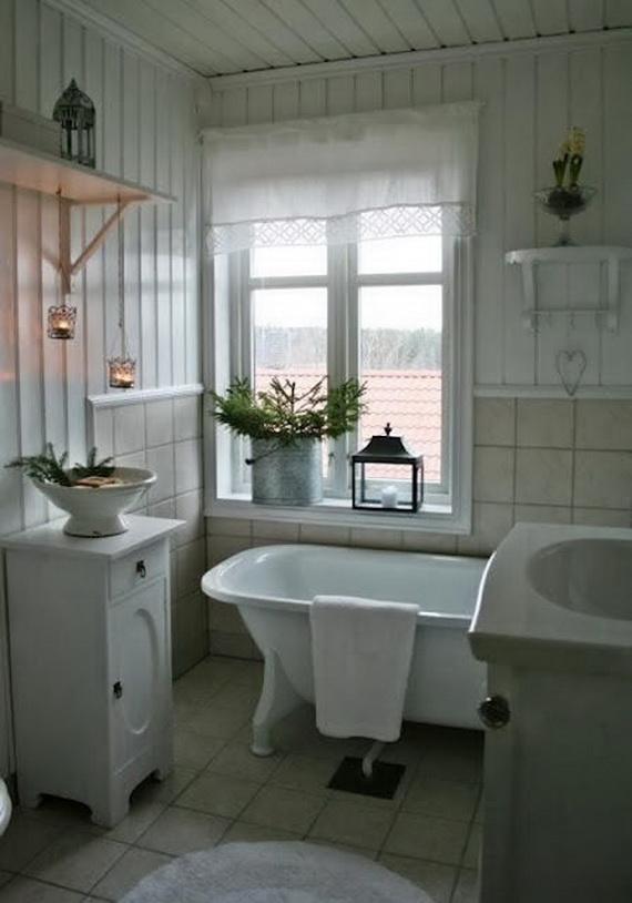 Festive Bathroom Decorating Ideas For Christmas_36
