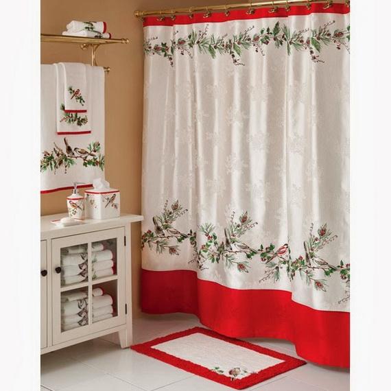 Festive Bathroom Decorating Ideas For Christmas_41
