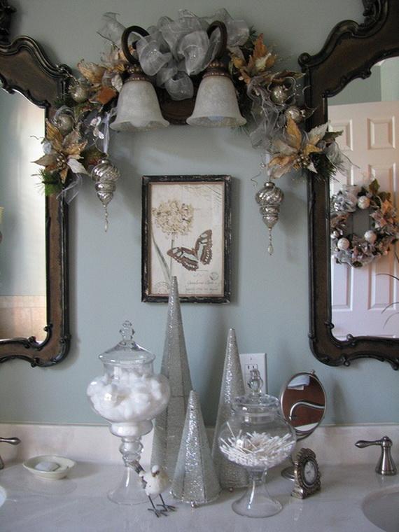Festive Bathroom Decorating Ideas For Christmas_48