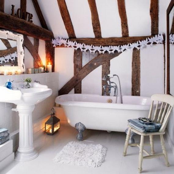 Festive Bathroom Decorating Ideas For Christmas_51