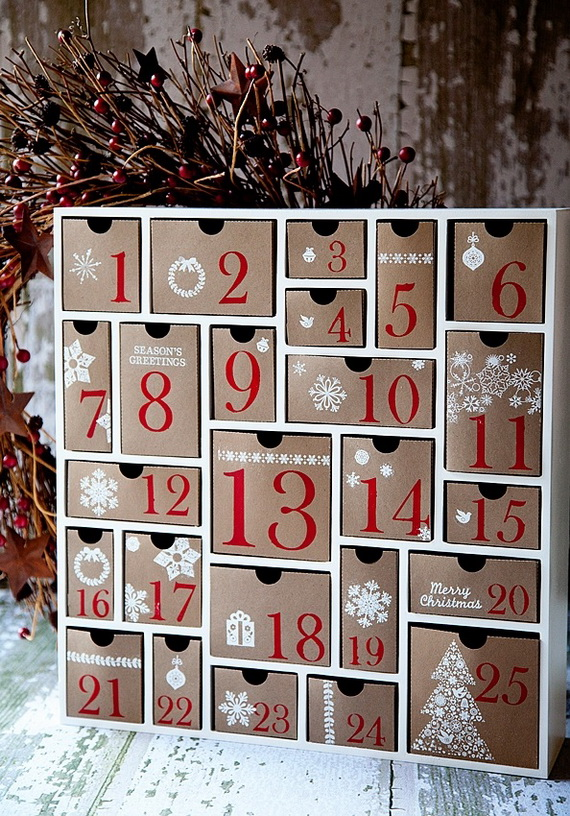 Fun Christmas Crafts With 50 Great Homemade Advent Calendars Ideas_08