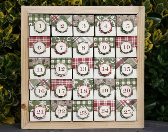Fun Christmas Crafts With 50 Great Homemade Advent Calendars Ideas_18