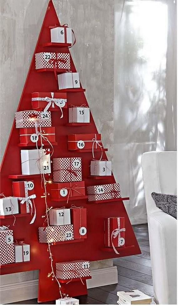 Fun Christmas Crafts With 50 Great Homemade Advent Calendars Ideas_23