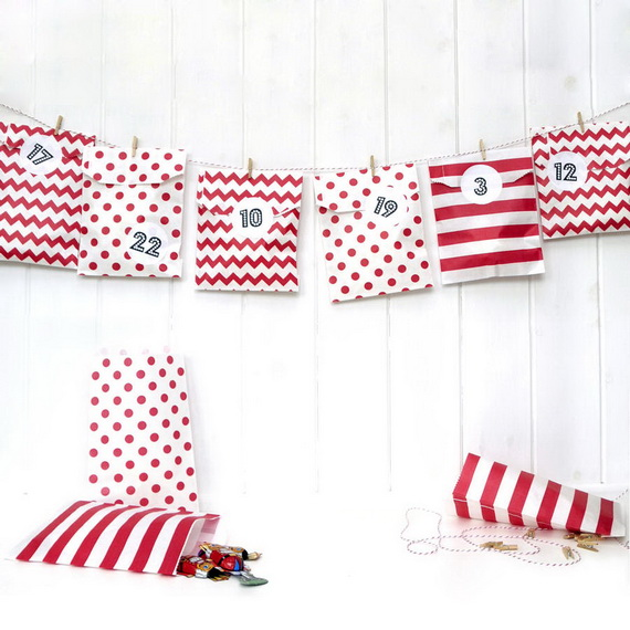 Fun Christmas Crafts With 50 Great Homemade Advent Calendars Ideas_31