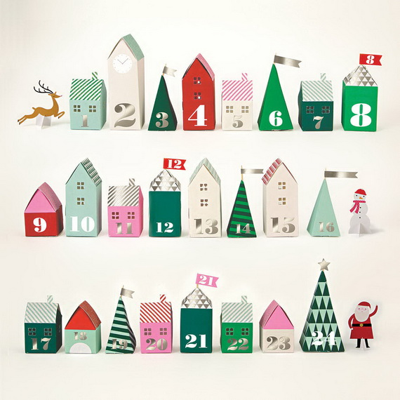 Fun Christmas Crafts With 50 Great Homemade Advent Calendars Ideas_44