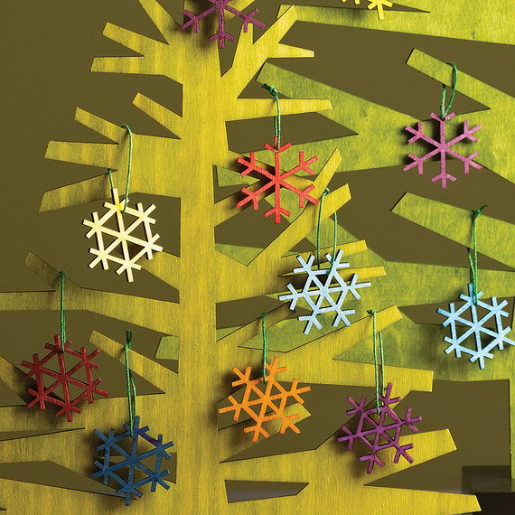 Snowflakes Inspiration Favorite Christmas Decorating Ideas (1)