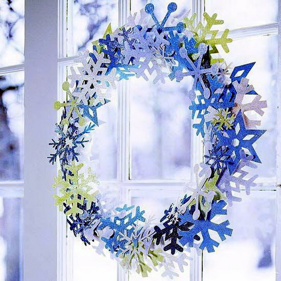 Snowflakes Inspiration Favorite Christmas Decorating Ideas (2)