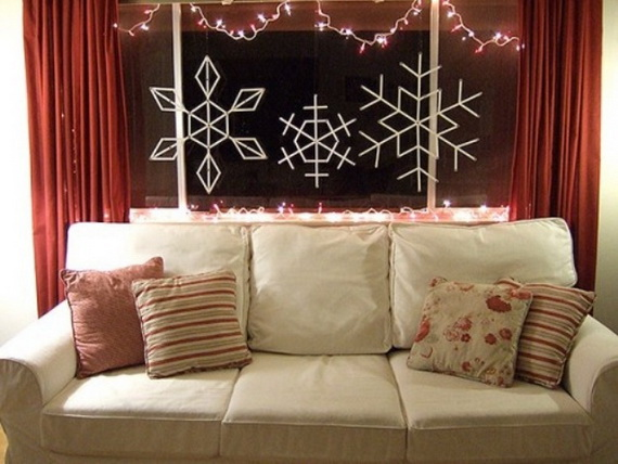 Snowflakes Inspiration Favorite Christmas Decorating Ideas (20)