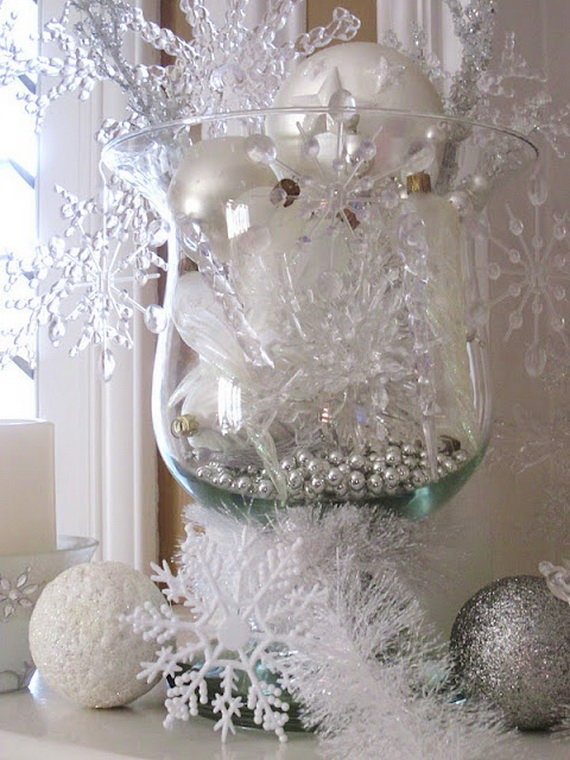Snowflakes Inspiration Favorite Christmas Decorating Ideas (21)