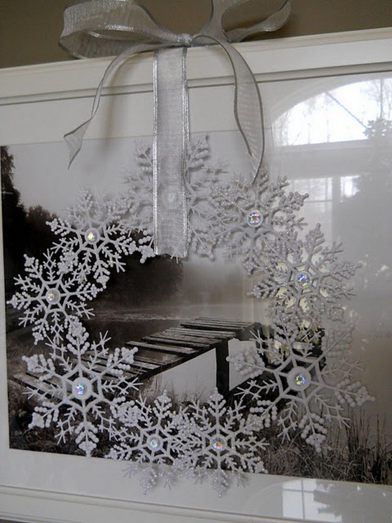 Snowflakes Inspiration Favorite Christmas Decorating Ideas (22)